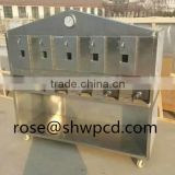 New model smokeless charcoal bbq grill,smokeless charcoal fish grill machine with low price