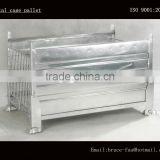 stackable steel mesh cage/folding metal container