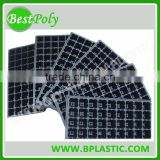 Plastic seed tray black seeding tray