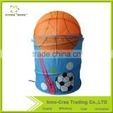Store More Customized Basketball Pop Up Storage Hamper