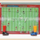 magnetic finger football game with 2 balls