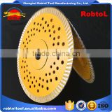 180mm Turbo Diamond Saw Blade Circular Saw Blade Rim Cutting Disc Stone Cutter Wheel Disk Socket Flange 7""