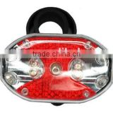 Hot- selling LED light for bike, Bicycle Rear Brake Light 7-mode 9*LED Bicycle Tail Light