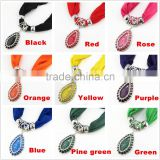 cheap acrylic turquoise pendant jewelry scarves women style long wrap scarves 2016 pendant scarves