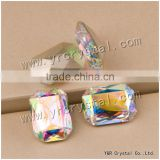 4627 Octagon Crystal 18*25mm Crystal AB Color Bead Treasure