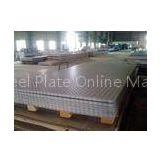 Custom 1000mm - 1500mm 304 430 Checkered Stainless Steel Plate /Sheet GB DIN for Medical Industry