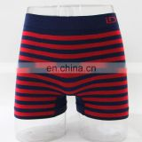 seamless streak pattern blue and red boxer men