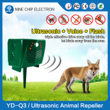 Solar Powered Ultrasonic Animal Repeller Outdoor Bird Snake  Repeller For Dog Deer  Repeller Rabbit Squirrel repeller