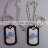 High quality cheap hardware hing polishing round charms dog tags stamping