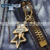 fashion rhinestone zipper slider puller
