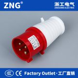 Supplying 16A 4Pin Industrial Plug, 380V IEC309 Power Plug 16A 3P+PE IP44