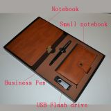 High Quality Promotional Business Gift Set with notebooks/pen/usb