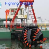 24 inch cutter suction dredger sale with dredging depth 18m