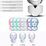 Photon Therapy 7 Color Ergonomic Pdt Light Beauty Face Led Lift Mask