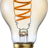 A60 LED Filament Bulb for perfectly replacement of incandescent lamp 5w 300lm dimmable amber