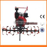 Powerful Manual Rotary Diesel Cultivator Mini Tiller