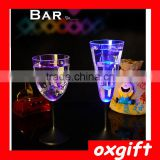 Oxgift Creative luminous colorful LED Cup glass bar dedicated sub-emitting goblet discoloration cup red wine