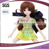 New fashion style two ponytail synthetic bjd hair baby Doll wig