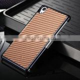 Hot selling Carbon firber back cover for Sony Z2