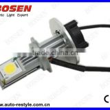 HOT SALE H7 singel beam 1800LM 50W CREE 1512 6000k led Car Fog light, daytime running light, LED headlight, drive light