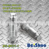 BS-B021-1,M14x1.5x56mm Knurled Wheel Stud Bolt
