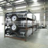 Popluar family camping powder coated camping trailer and hot dipped galvanized camper trailer