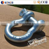 US Type Steel Drop Forged Galvanized Screw Pin Anchor Shackle                                                                         Quality Choice