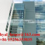 China produced curtain wall aluminium profile of powder coated with low price and best quality