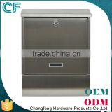Combination Price Apartment Fashion Desigh Metal Letter Box