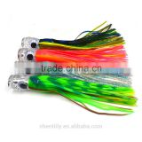 factory direct sell acrylic head with pvc skirtTrolling Lures Big Game Lures Fishing Tackle