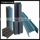 2013 OEM manufacture powder coated aluminium profile from manufacturer/exporter/supplier
