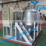 Yuneng Change Color Remove Bad Smell Waste Tire Oil Refining Machine
