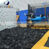 22D foam cube for opening indoor trampoline center,trampoline for rent,portable trampoline