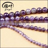 Wholesale 6/8/10/12mm Natural Gems Stones Beads Jewelry Making Stones Highly Polished Beads
