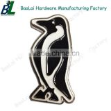 Cute bird shape enamel zamak tourist souvenir fridge magnet