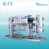 Alibaba China stainless steel material and medium type one stage reverse osmosis water plant price