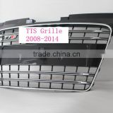 2008-2014 model Car front grille for audi TTS grille black grille chrome frame