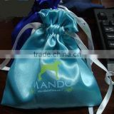 High quality satin garment packing bag with ribbon                                                                         Quality Choice