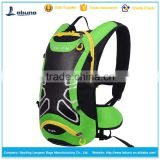 Wholesale 2.5L water bladder hydration pack with helmet mesh pocket , waterproof nylon cycling backpack with reflective strips