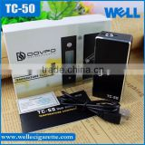 2015 New Dovpo TC-50 Electronic Cigarette Temperature Control Mini 50W Box Mod Dovpo 50W TC