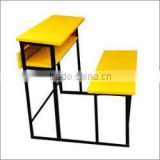 Economic and Space saving School Desk with Bench