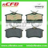 4250.56 Brake Pad rear for Peugeot AUDI VW SKODA SEAT FORD RENAULT