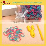 Spot Weaving Rubber loom Bands DIY Loom Bracelet Amazing Gift for Children wholesale 600 pcs/bag