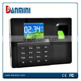 Portable Touch Screen biometric fingerprint time attendance A9-TB with TCP/IP and Battery
