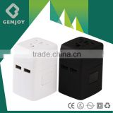 worldwide new charger portable power plug travel adaptor universal promotional gifts adapter