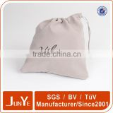 cotton bag organic drawstring belt bag pouches                                                                         Quality Choice