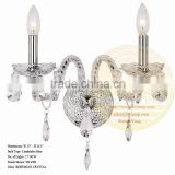 Modern crystal wall light for hotel,baolian crystal wall light for hotel