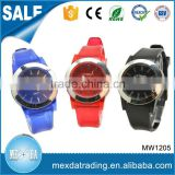 hot sell high quality waterproof new fashion factory price silicone band wrist watch                                                                                                         Supplier's Choice