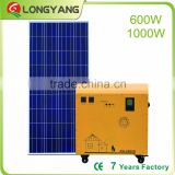 1000W pure sine wave Inverter solar power system 220V solar home generator with 12V 5V DC charge socket