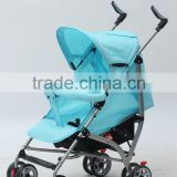 Adjustable handle baby doll stroller 4 big wheels carriage baby stroller